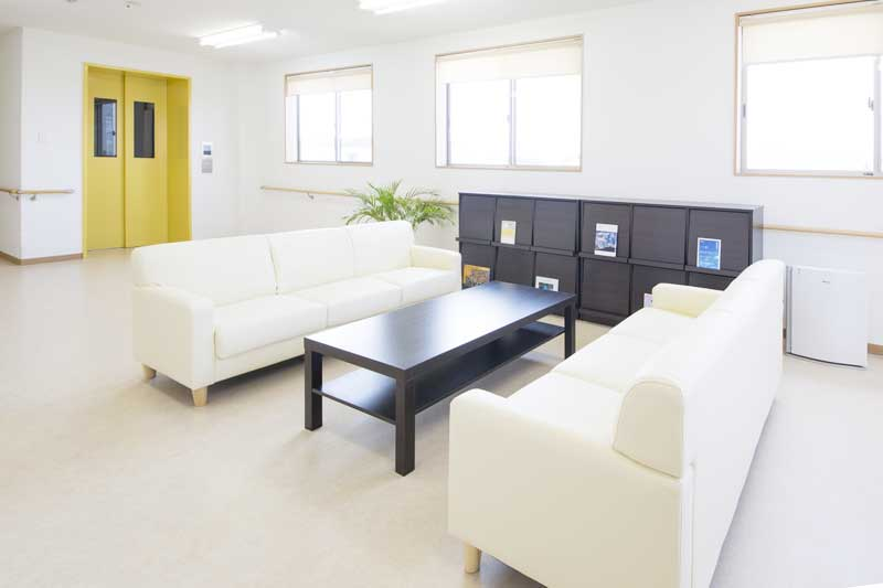 リーガルシニア瓢箪山居室2階談話スペース